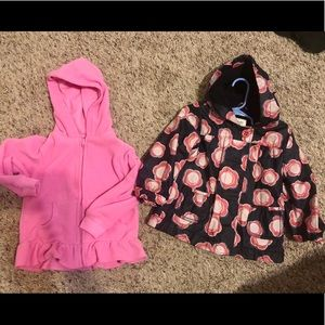 Two Hooded Jackets